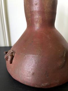 Robert Chapman Turner Sculptural Ceramic Handled Vase by Robert Turner - 1979762