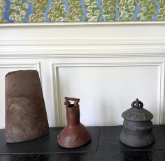 Robert Chapman Turner Sculptural Ceramic Handled Vase by Robert Turner - 1979768