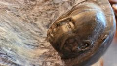 Robert Dale Tsosie Sleepy Mountains Sculpture by RD Tsosie - 2142931