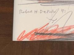 Robert De Niro Sr Robert De Niro Sr Iconic Maxwell Mahogany Bar Sketch - 1274389
