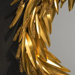 Robert Goossens Crown of wheat mirror by Robert Goossens circa 1970 - 1055090