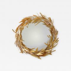 Robert Goossens Crown of wheat mirror by Robert Goossens circa 1970 - 1056040