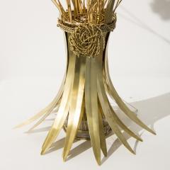 Robert Goossens Gerbe de bl sculpture - 1245135