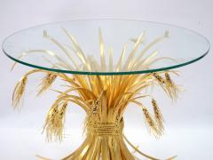 Robert Goossens Rye table in gilded bronze and brass by Robert Goossens 1927 2016  - 1055129