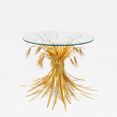 Robert Goossens Rye table in gilded bronze and brass by Robert Goossens 1927 2016  - 1056041