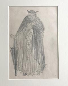 Robert Henri Framed Figurative Drawing by Robert Henri Ashcan School - 1631135
