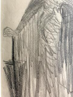 Robert Henri Framed Figurative Drawing by Robert Henri Ashcan School - 1631137