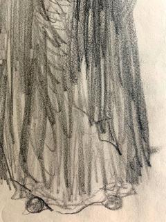 Robert Henri Framed Figurative Drawing by Robert Henri Ashcan School - 1631138