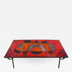 Robert Jean Cloutier Ceramic Tile Coffee Table by Cloutier - 505031