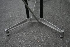 Robert Josten Robert Josten 1970s Metal Grid and Glass Desk with Wood Chair - 328104