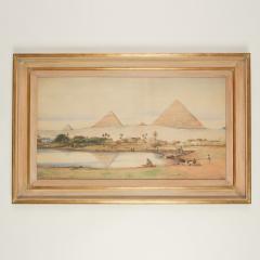 Robert Murdoch Wright Large watercolour of Cairo by Robert Murdoch Wright - 1933761