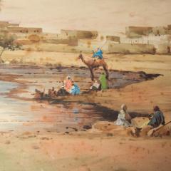 Robert Murdoch Wright Large watercolour of Cairo by Robert Murdoch Wright - 1933769