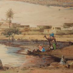 Robert Murdoch Wright Large watercolour of Cairo by Robert Murdoch Wright - 1933771