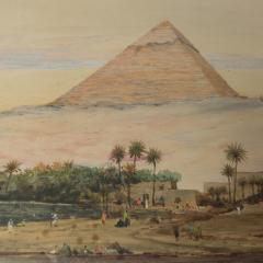 Robert Murdoch Wright Large watercolour of Cairo by Robert Murdoch Wright - 1933772