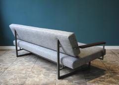 Robert Parry Reupholstered Grey Vintage Sofa or Daybed by Rob Parry for Gelderland 1950s - 690661