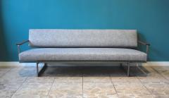 Robert Parry Reupholstered Grey Vintage Sofa or Daybed by Rob Parry for Gelderland 1950s - 690662