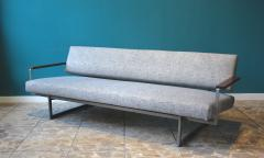 Robert Parry Reupholstered Grey Vintage Sofa or Daybed by Rob Parry for Gelderland 1950s - 690663