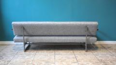 Robert Parry Reupholstered Grey Vintage Sofa or Daybed by Rob Parry for Gelderland 1950s - 690664
