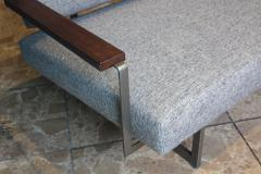 Robert Parry Reupholstered Grey Vintage Sofa or Daybed by Rob Parry for Gelderland 1950s - 690667