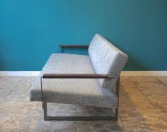 Robert Parry Reupholstered Grey Vintage Sofa or Daybed by Rob Parry for Gelderland 1950s - 690668