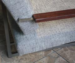 Robert Parry Reupholstered Grey Vintage Sofa or Daybed by Rob Parry for Gelderland 1950s - 690669