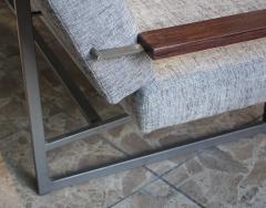 Robert Parry Reupholstered Grey Vintage Sofa or Daybed by Rob Parry for Gelderland 1950s - 690670