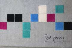 Robert Parry Rob Parry Squares Rug for Danish Carpets Netherlands circa 2000 - 811756