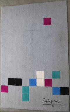Robert Parry Rob Parry Squares Rug for Danish Carpets Netherlands circa 2000 - 811759