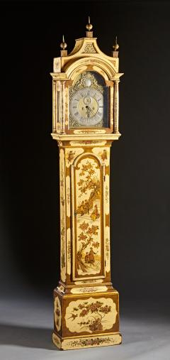 Robert Player A Fine London Tall Clock in Chinoiserie Lacquer - 555119