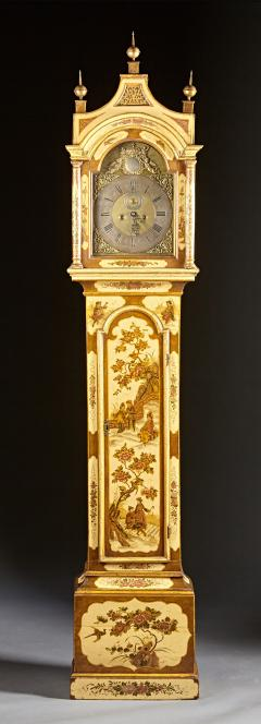 Robert Player A Fine London Tall Clock in Chinoiserie Lacquer - 555120