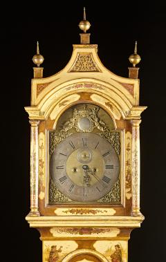 Robert Player A Fine London Tall Clock in Chinoiserie Lacquer - 555122