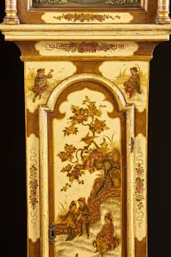 Robert Player A Fine London Tall Clock in Chinoiserie Lacquer - 555125