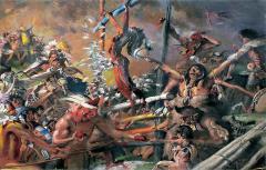 Robert Riggs Indian Sacrificial Ceremony - 1528039