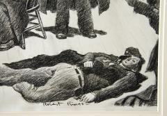 Robert Riggs New York City Police Fortune Magazine Illustration - 1188350