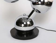 Robert Sonneman 1970s Chrome Adjustable Molecular Table Lamp - 508339