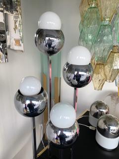 Robert Sonneman Chrome Metal Ball Lamp by Robert Sonneman USA 1970s - 944683