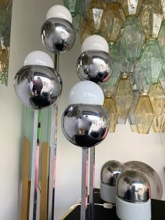 Robert Sonneman Chrome Metal Ball Lamp by Robert Sonneman USA 1970s - 944686