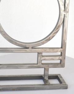 Robert Sonneman Pair of Postmodern Geometrical Form Table Lamps - 635293