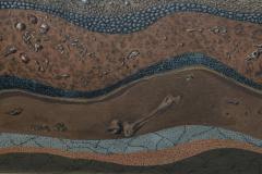 Robert Springfels Oil on Canvas Desert Landscape with Woman Computer Robert Springfels 1970 - 350407