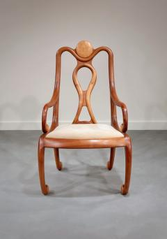 Robert Whitley 4 Armchairs by Robert Whitley c 1980 - 187077