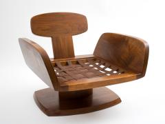 Robert Whitley Robert Whitley American Studio Craft Movement Upholstered Lounge Chair 1968 - 410045