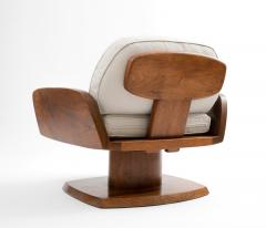 Robert Whitley Robert Whitley American Studio Craft Movement Upholstered Lounge Chair 1968 - 410049