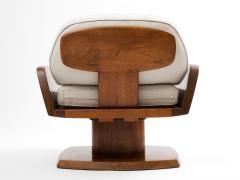 Robert Whitley Robert Whitley American Studio Craft Movement Upholstered Lounge Chair 1968 - 410050