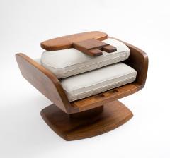 Robert Whitley Robert Whitley American Studio Craft Movement Upholstered Lounge Chair 1968 - 410051
