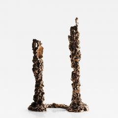 Roberta Verteramo Selene link candle holder - 1798562