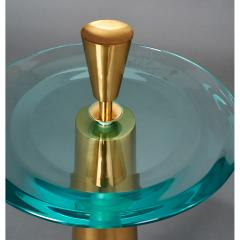 Roberto Giulio Rida Limited Edition Pair of Roberto Rida Glass Side Tables - 324655