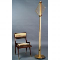 Roberto Giulio Rida Pair of Roberto Rida Floor Lamps with Vintage Venini Glass - 596064
