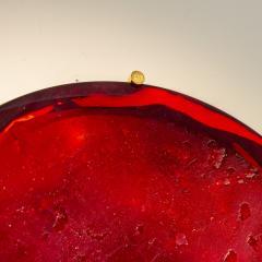 Roberto Giulio Rida Red glass sculpture Rosso Roberto Giulio Rida - 1677140