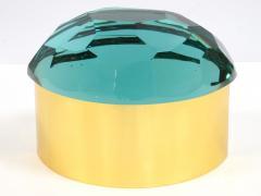 Roberto Giulio Rida Tartarugh box in glass and brass Roberto Giulio Rida - 1671432