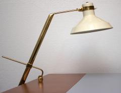 Roberto Menghi Rare Libra Lux Table Lamp by Roberto Menghi for Lamperti Co Italy 1948 - 522868